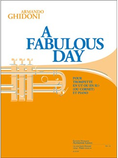 Armando Ghidoni: A Fabulous Day (Trumpet/Piano) Books | Trumpet, Piano Accompaniment