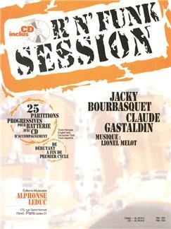 Bourbasquet/Gastaldin: R'n' Funk Session De Déb. À Fin De Cycle 1 (Book/CD) Books and CDs | Percussion