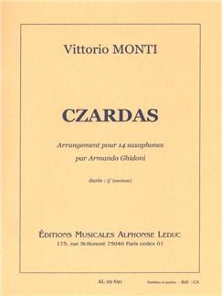Vittorio Monti: Czardas (14 Saxophones) Buch | Bläserensemble