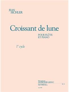 Sichler: Croissant de lune (cycle 1) (1'15'') pour flûte et piano Books | Flute