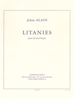 Jehan Alain: Litanies for Organ Books | Organ