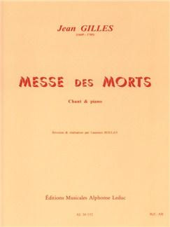 Jean Gilles: Messe Des Morts - Vocal Score Buch | SATB (Gemischter Chor), Klavierbegleitung