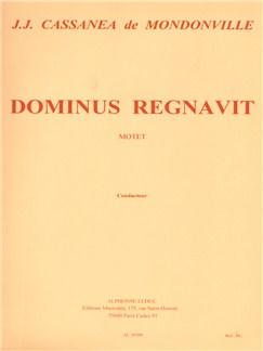 Jean-Joseph Cassanéa de Mondonville: Dominus regnavit (Choral-Mixed accompanied) Books | SSATB soli, SATBB chorus, Orchestra