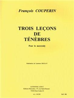 François Couperin: Leçons de Ténèbres (Voice & Orchestra) Buch | Gesang