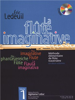 Eric Ledueil: La Flûte Imaginative Méthode Elementaire Vol.1 (Book/CD) Books and CDs | Flute