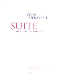 Yuko Uebayashi: Suite For Flute And Cello Libro | Flauta, Cello