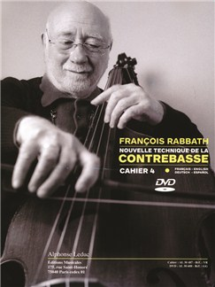 François Rabbath: Nouvelle Technique De La Contrabasse Vol.4 (Book/DVD) DVDs / Videos y Libro | Contrabajo
