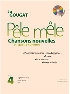 Jo Gougat: Pêle-Mêle, Vol. 4 (Book/CD) Books and CDs | Voice