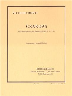 Vittorio Monti: Czardas (Saxophone Quartet) (Score/Parts) (Ghidoni) Books | Saxophone (Quartet)