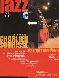 Les Cahiers Charlier Sourisse: Jazz - Tenor Saxophone (Book/CD) Books and CDs | Tenor Saxophone