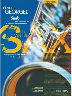 Georgel: Snab (4'20'') (6e) (livre avec cd) (collection vent de sax) pour saxophone alto et dispositif electroacoustique (livre seul) Books | Saxophone