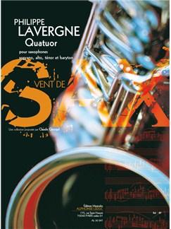 Lavergne: Quatuor (11') (9e) (collection vent de sax) pour quatuor de saxophones (satb) (partition et parties) Books | Saxophone