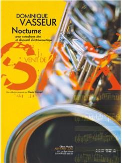 Vasseur: Nocturne (3'40'') (3e) (collection vent de sax) pour saxophone alto et dispositif electroacoustique (livre seul) Books | Saxophone