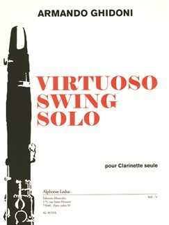 Armando Ghidoni: Virtuoso Swing Solo (Clarinet) Books | Clarinet