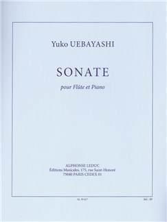 Yuko Uebayashi: Sonata For Flute And Piano Books | Flute, Piano Accompaniment