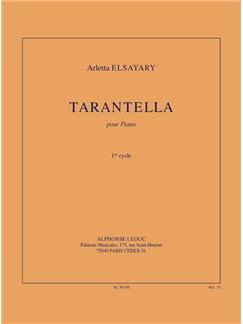 Elsayary: Tarantella (1'20'') pour piano (cycle 1) Books | Piano