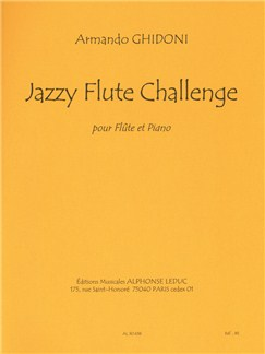 Armando Ghidoni: Jazzy Flute Challenge Books | Flute
