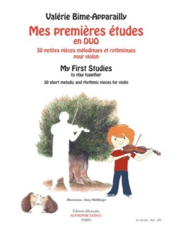 Valérie Bime-Apparailly: My First Studies To Play Together - 30 Short Melodic And Rhythmic Pieces For Violin Books | Violin