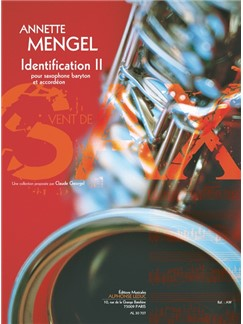 Annette Mengel: Identifications II For Baritone Saxophone And Accordion Buch | Baritonsaxophone, Akkordeon