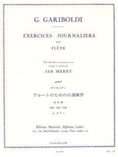 Giuseppe Gariboldi: Exercices Journaliers (Flute) Books | Flute
