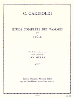 Giuseppe Gariboldi: Complete Study of Scales for Flute Books | Flute