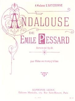 Emile Pessard: Andalouse (Flute/Piano) Books | Flute, Piano (Big Notes)