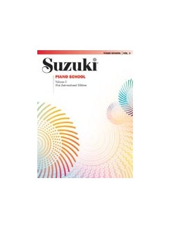 Suzuki Piano School - Volume 3 (Book Only) Books | Piano