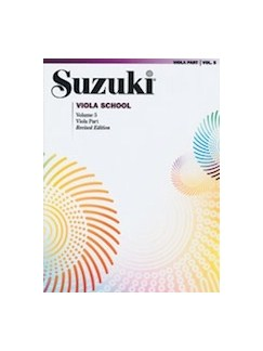 Suzuki Viola School: Volume 5 (Viola Part) (Revised Edition) Books | Viola