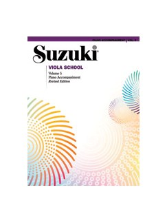 Sukuzi Viola School: Volume 5 Revised Edition - Piano Accompaniments Book (Revised Edition) Books | Piano Accompaniment