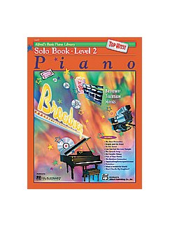 Alfred's Basic Piano Library Top Hits - Solo Book 2 Books   Piano