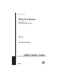 Sonja Poorman/Berta Poorman: There Is A Season Books | SATB, Piano Accompaniment