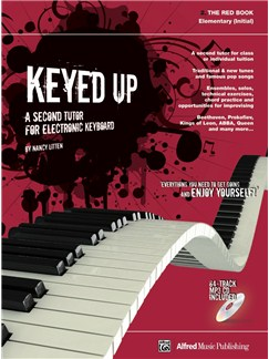 Nancy Litten: Keyed Up Red Book - Initial Books and CDs | Keyboard