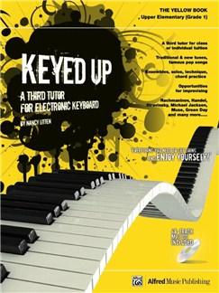 Nancy Litten: Keyed Up Yellow Book - Grade 1 Books and CDs | Keyboard