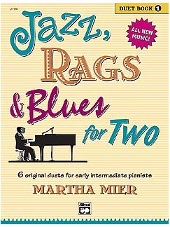 Martha Mier: Jazz, Rags And Blues For Two - Duet Book One Books | Piano Duet