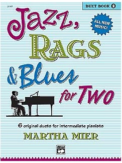 Martha Mier: Jazz, Rags And Blues For Two - Duet Book 2 Books | Piano Duet