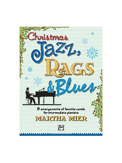 Christmas Jazz, Rags & Blues - Book 2 Books | Piano