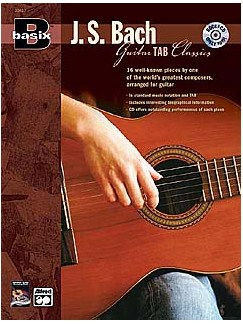 J.S. Bach: Guitar TAB Classics Books and CDs | Guitar