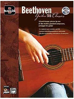 Basix: Beethoven Guitar TAB Classics Books and CDs | Guitar