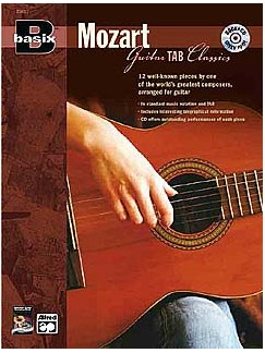 Basix®: Mozart Guitar TAB Classics Books and CDs | Guitar