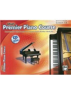 Alfred's Premier Piano Course - Lesson 1A (Book/CD) Books and CDs | Piano