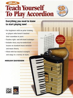 Miriam Davidson: Teach Yourself To Play Accordion Books | Accordion