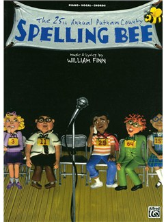 William Finn: The 25th Annual Putnam County Spelling Bee Books | Piano, Vocal & Guitar
