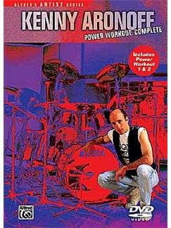 Kenny Aronoff: Power Workout - Complete DVDs / Videos | Drums