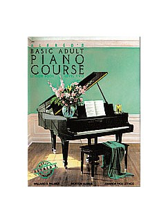 Alfred's Basic Adult Piano Course: Lesson Book Level 2 Books | Piano
