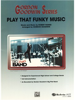 Robert Parissi: Play That Funky Music - Jazz Ensemble Books | Jazz Band