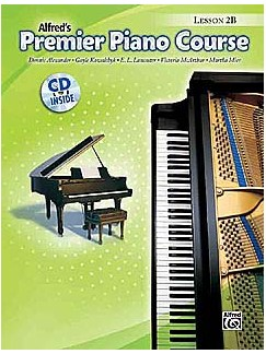 Premier Piano Course Lesson 2B (CD Include) Books | Piano