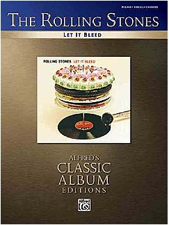 The Rolling Stones: Let It Bleed (PVG) Books | Piano, Vocal & Guitar (with Chord Boxes)