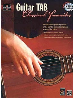 Basix®: Guitar TAB Classical Favourites Books and CDs | Guitar Tab
