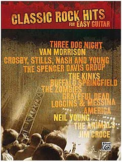 Classic Rock Hits For Easy Guitar Books | Melody Line, Lyrics & Chords (with Chord Boxes), Guitar Tab