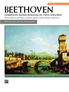 Beethoven: Complete Piano Sonatas - Volume 1 (Alfred Edition) Books | Piano
